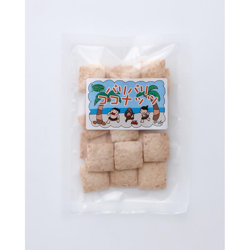 パリパリ ココナッツ